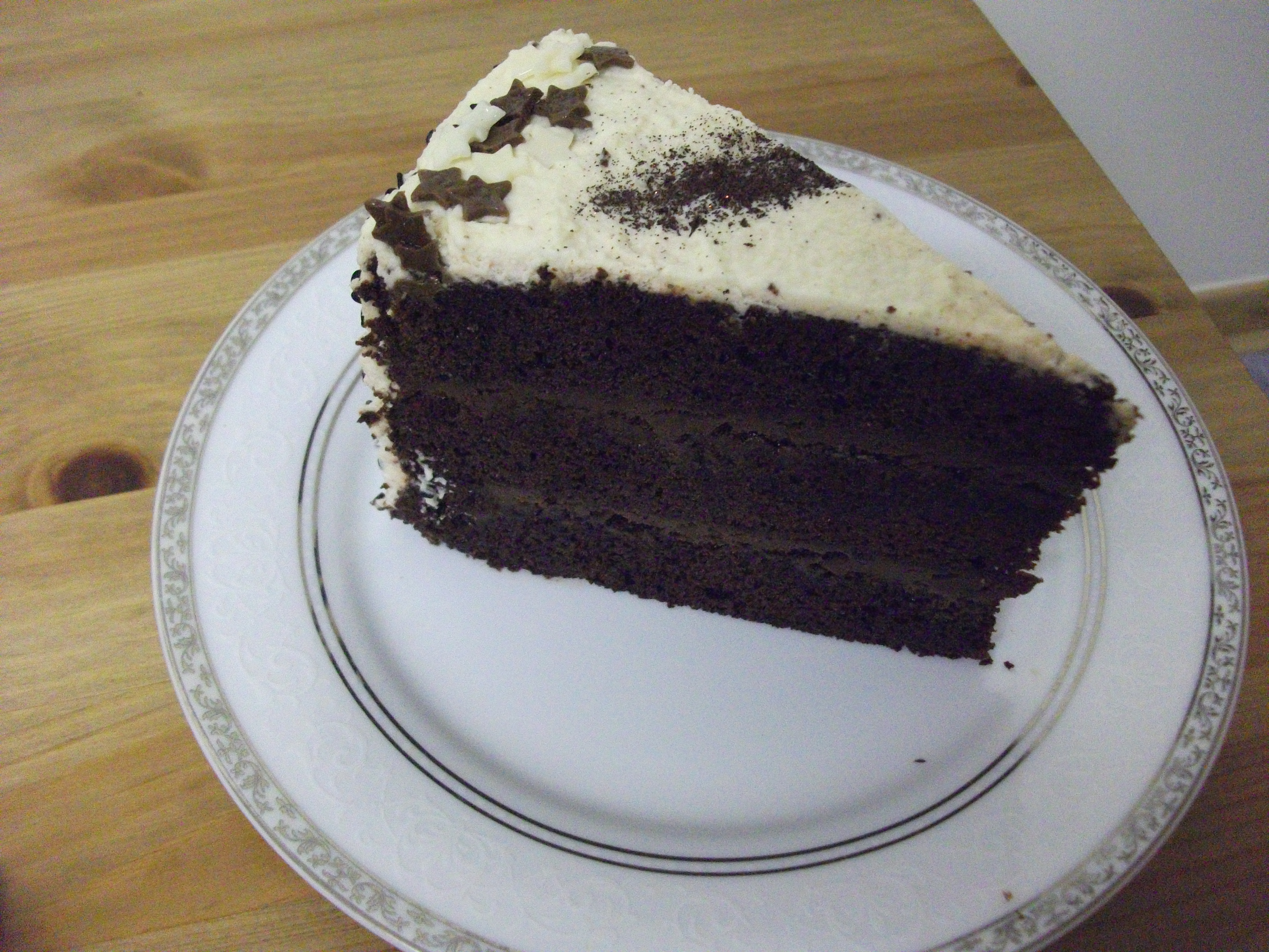 ... Ginger and Black Sesame Cake (or, Black Pearl Layer Cake) | Rock Cakes
